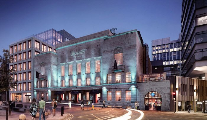 Freemasons' Hall to Become Manchester Hall