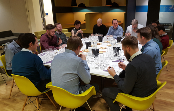 Arup Wine Tasting, Piccadilli Place, Manchester