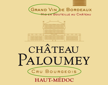 A Cru Bourgeois with Grand Vin on its label