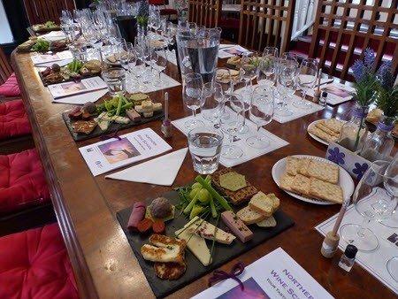 Table Set at The Bridge Tavern