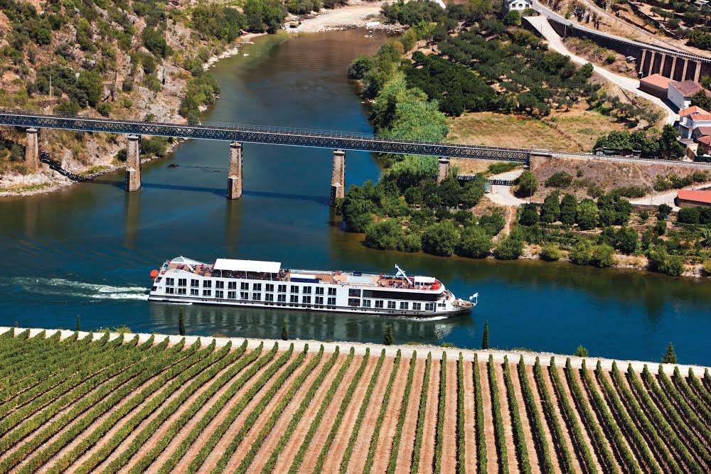 Cruising up the Douro is one of the best ways to take in the spectacular scenery. Glass of wine in hand, of course!