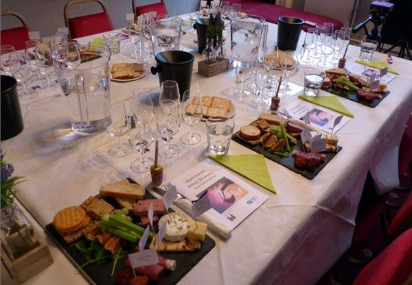 Food and Wine Matching at our Manchester Events