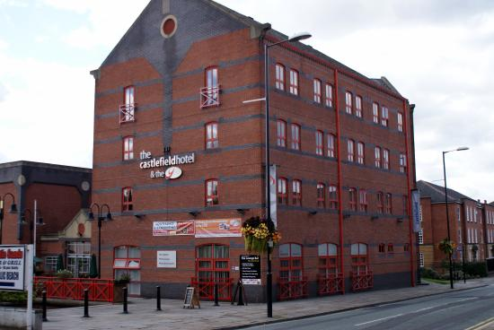 The Castlefield Hotel Main Entrance