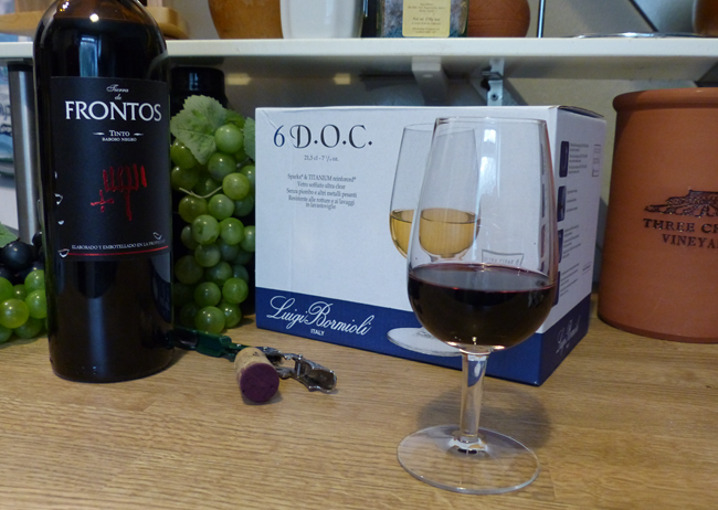 An ISO Professional Wine Tasting Glass Ready For Use
