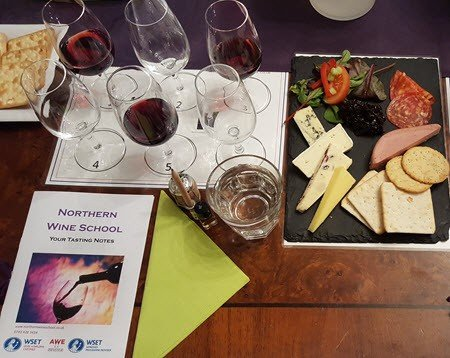 Wine tasting Manchester-Enjoy a tasty platter with your wine