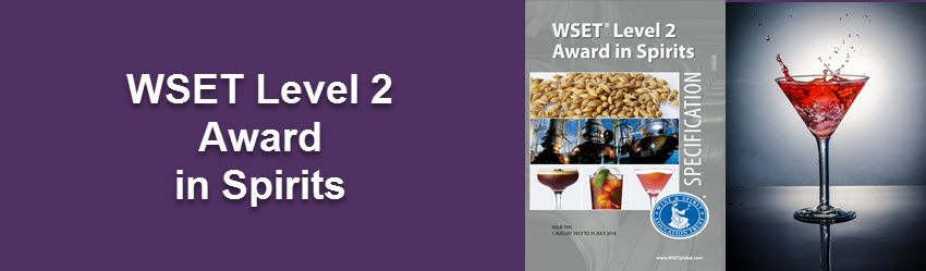 Wine tasting Manchester-WSET Level 2 Spirits