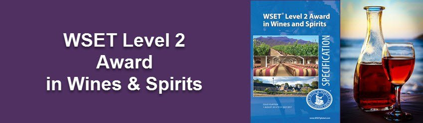 Wine tasting Manchester-WSET Level 2 wines and spirits