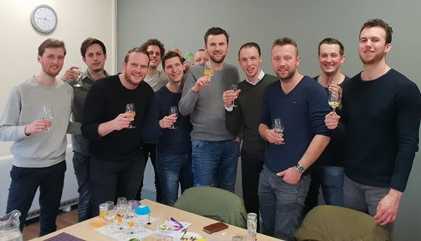 Netherlands Gin Tasting Group Manchester