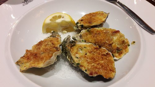 Oysters Randall