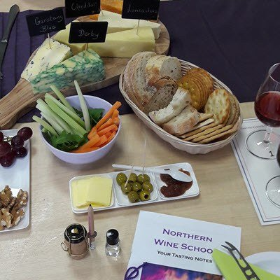 English Cheese and Wine Tasting