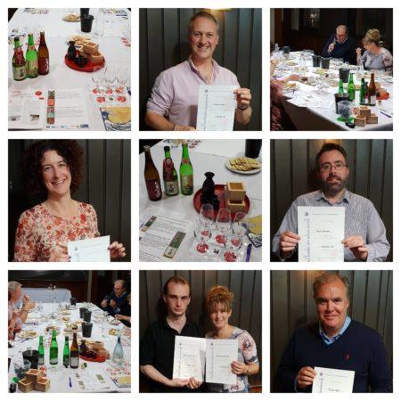 Sake Sommelier collage