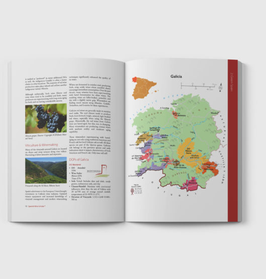 Full colour student manual with detailed maps and pictures of each region