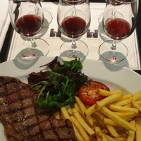 Delicious Malmaison Flame Grilled Steak & Chips