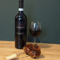Grape Vine Corkscrew With Bottle