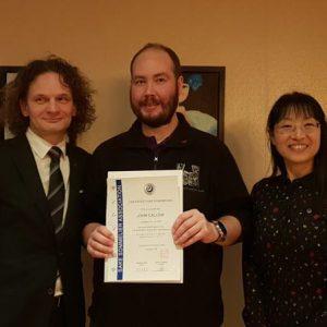 John Callow of Northern Wine School, Certified Sake Sommelier