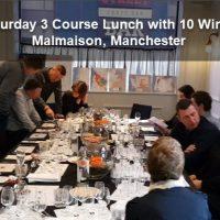 Saturday Wine Tasting Lunch Malmaison Manchester