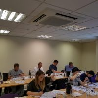 WSET Students in Classroom Photo
